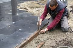 Aanleg sierbestrating stadstuin Oirschot