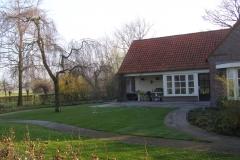 landelijke achtertuin