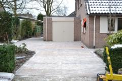 Sierbestrating oprit Eindhoven