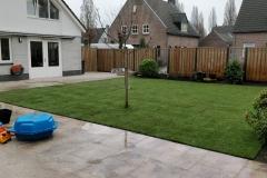 Renovatie tuin Liempde graszoden