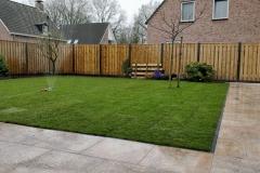 Renovatie tuin Liempde sierbestrating